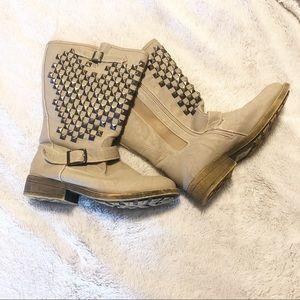 Torrid studded boots (wide calf)